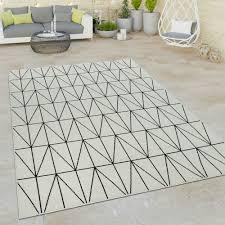 outdoor teppich 3 d look skandi design kurzflor