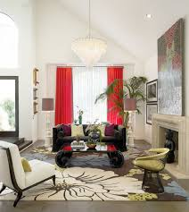Red And Black Living Room Decorating Ideas by Bold And Glamorous How To Style Around A Black Coffee Table