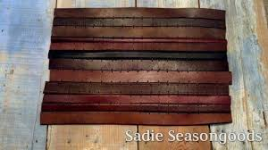 Create A Desk Dresser Mat From Old Leather Belts Free Tutorial With Pictures