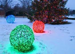 Outdoor Christmas Decorations Ideas To Make by Christmas Decorations Ball Lights Chicken Wire And Lights