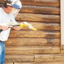 Log Home Restoration Media Blasting & Log Repair
