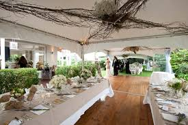 A Rustic White Wedding Marquee Hire And
