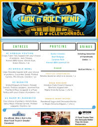 Wok N Roll Food Truck - Asian American Road Food - Cleveland, OH How To Start A Food Truck Business Trucks Truck Review The New Chuck Wagon Fresh Fixins At Fort 19 Essential In Austin Bleu Garten Roxys Grilled Cheese Brick And Mortar Au Naturel Juice Smoothie Bar Menu Urbanspoonzomato Qa Chebogz Seattlefoodtruckcom To Write A Plan Top 30 Free Restaurant Psd Templates 2018 Colorlib Coits Home Oklahoma City Prices C3 Cafe Dream Our Carytown Burgers Fries Richmond Va