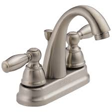 Bathroom Sink Faucets Walmart by P299696lf Bn Two Handle Lavatory Faucet