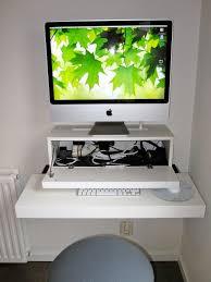 Ikea White Corner Computer Desk by Workspace Modern Minimalist Workspace Design With Imac Computer
