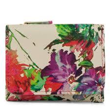 100 Mundi Design Womens Anna Wallet Floral