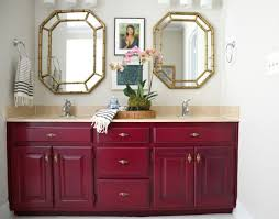 Color For Bathroom Cabinets by Painting Our Bathroom Vanity With Opi Emily A Clark