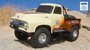 100 F100 Ford Truck Axial 110 SCX10 II 1955 4WD RTR Brown