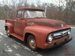 1956 Ford F100 Pickup Big Back Window Truck Original V8 Fordomatic ...
