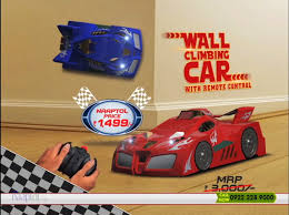 Wall Climbing Car With Remote Control - Red Or Blue - YouTube