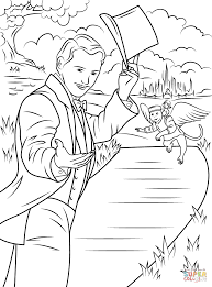 Coloring Pages Wizard Of Oz Tornado Scene Page Free At