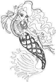 Monster High 13 Wishes Coloring Pages Free