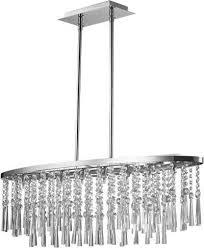 spot light pendelleuchte luxoria hängeleuchte hochwertige leuchte mit echtem kristallen led leuchtmittel inklusive zeitlos und