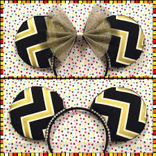 NFL Saints UCF Knights Inspired Mouse Ears By MalifAccents