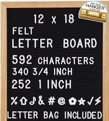 Letter Board Felt