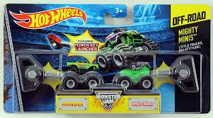 100 Hot Wheels Monster Truck Track Jam Mighty Minis OffRoad Avenger Grave