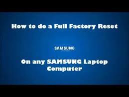 plus de bureau windows 7 samsung laptop factory default restore reinstall windows reset np