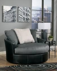 masoli cobblestone faux leather fabric oversized swivel accent