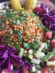 hummus küch neu bei uns israelische couscous salat