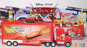 100 Mack Truck Playset DISNEY CARS Unboxing Toys Toys