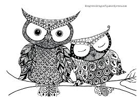 Baby Owl Coloring Pages To Print Pictures For Adults