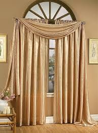 Beautiful Living Room Curtains With Valance For Your