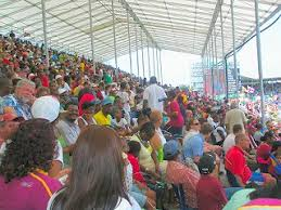 The Crowd At Kensington Oval
