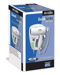 andis 1600 watt wall mounted hangup hair dryer