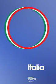 Each Poster Represents A Particular Country Thats Playing And The Colors Of Their Flag Are Incorporated Into One Various Circular Designs