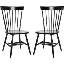 Safavieh Riley Black Wood Dining Chair (Set Of 2)-AMH8500B-SET2 ... Mid Century Parker Nordic Ding Chairs X 6 Vintage Retro Carvers Parker Teak Danish Style Invisedge 1960s Table Restored And Recovered Fniture Home Fniture On Carousell Mid Set Of Spadeback Set With Oak Table Bench 4 Oregan Chairs Buy Matt Blatt 1co103713 Coffee Finish Parson Extending Oak Dfs Knoll Extendable Plus Images Tagged Melbonemidcentury Instagram