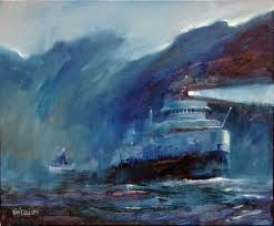 Edmund Fitzgerald Sinking Location by Conscientious Catholic November 2014