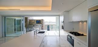 ceiling soffit lighting kitchen modern with white countertop light