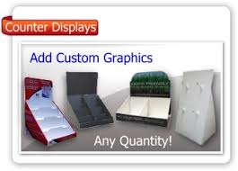 Cardboard And Corrugated Point Of Purchase Displays In Stock Display For