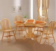 dining table with butterfly leaf foter