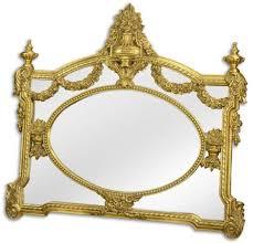 casa padrino barock spiegel gold 131 x h 116 5 cm garderoben spiegel wohnzimmer spiegel prunkvoller wandspiegel im barockstil