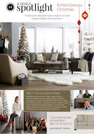 Havertys H Design Spotlight A Mid Century Christmas