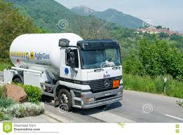 100 Valley Truck And Trailer Gas On The Road At Malcantone Editorial