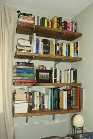 extravagant homemade bookshelves wooden style minimalist design