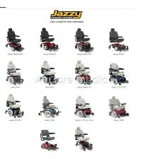 Jazzy Power Chairs Accessories by Jazzy Select 6 Power Wheelchair By Pride Mobility