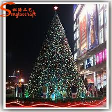 Chinese Christmas Tree Decoration Artificial Giant Led Lighted Xmas Outdoor Types Of Decorative Pine
