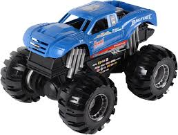 100 Bigfoot Monster Truck Toys UPC 011543337553 Road Rippers 17 Big Foot Blue