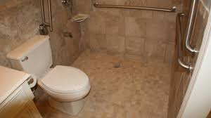 Handicap Toilet Chair With Wheels by Handicap Bathroom Remodeling Wmv Youtube
