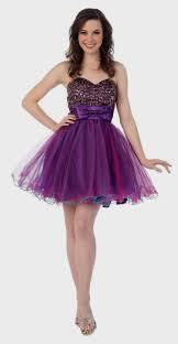 prom dresses short purple and black naf dresses