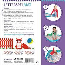 Bolcom Letterspelmat Kakels Speelgoed