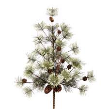 Artificial Douglas Fir Christmas Tree Unlit by Artificial Plants And Flowers Pine Sprays Christmastopia Com