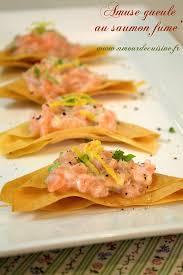 cuisine feuille de brick amuse bouche au saumon fumé et feuilles de bricks amour de cuisine
