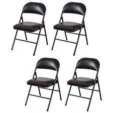 Cosco Mahogany Folding Table And Chairs by Padded Folding Chairs Ebay
