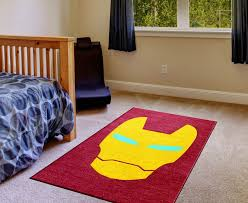 Ironman Superhero Rug