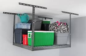 Hyloft Ceiling Storage Unit 30 Cubic Feet by Monsterrax Overhead Storage Rack U0026 Reviews Wayfair