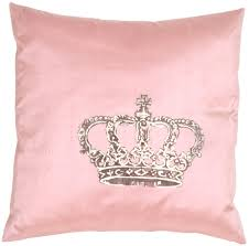 Crown Royal on Sunset Pink Silk Throw Pillow from Pillow Décor